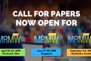 MRMW Conference Series 2018 - Call for Papers is Open!