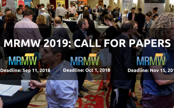 MRMW Conference Series 2019 – Call for Papers is Open!