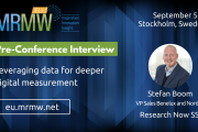 Pre-Conference Interview with Stefan Boom of Research Now SSI